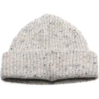 herring malin beanie hat in light grey