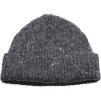 herring malin beanie hat in charcoal