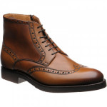 Herring Gromo rubber-soled brogue boots