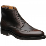 Gromo rubber-soled brogue boots