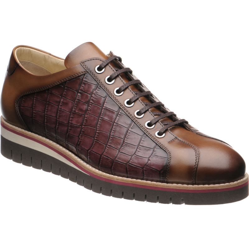 Floyd two-tone rubber-soled trainers