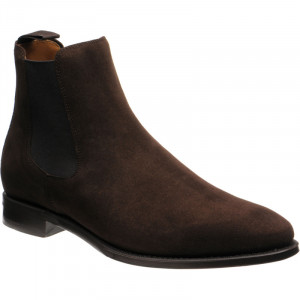 Purcell in Brown Suede