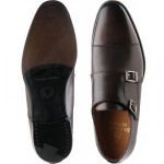 Haig double monk shoes