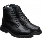 Herring Stephy ladies rubber-soled brogue boots