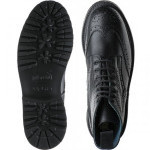 Stephy ladies rubber-soled brogue boots