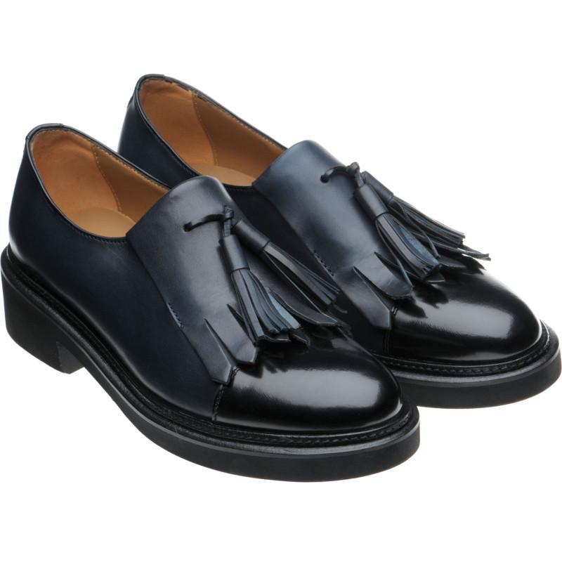 Miranda ladies rubber-soled tasselled loafers