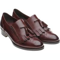 herring giulietta in burgundy calf