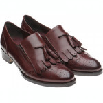 Herring Giulietta ladies rubber-soled tasselled loafers