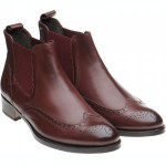 Giovanna ladies rubber-soled brogue boots