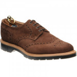 Herring Wellingborough Suede rubber-soled brogues