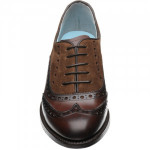 Claire ladies two-tone brogues