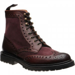 Herring Coniston II rubber-soled brogue boots