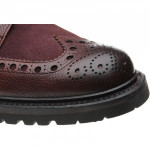 Coniston II rubber-soled brogue boots