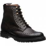 Herring Crosthwaite two-tone rubber-soled brogue boots