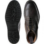 Crosthwaite two-tone rubber-soled brogue boots