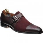 Herring Cadaresa two-tone monk shoes