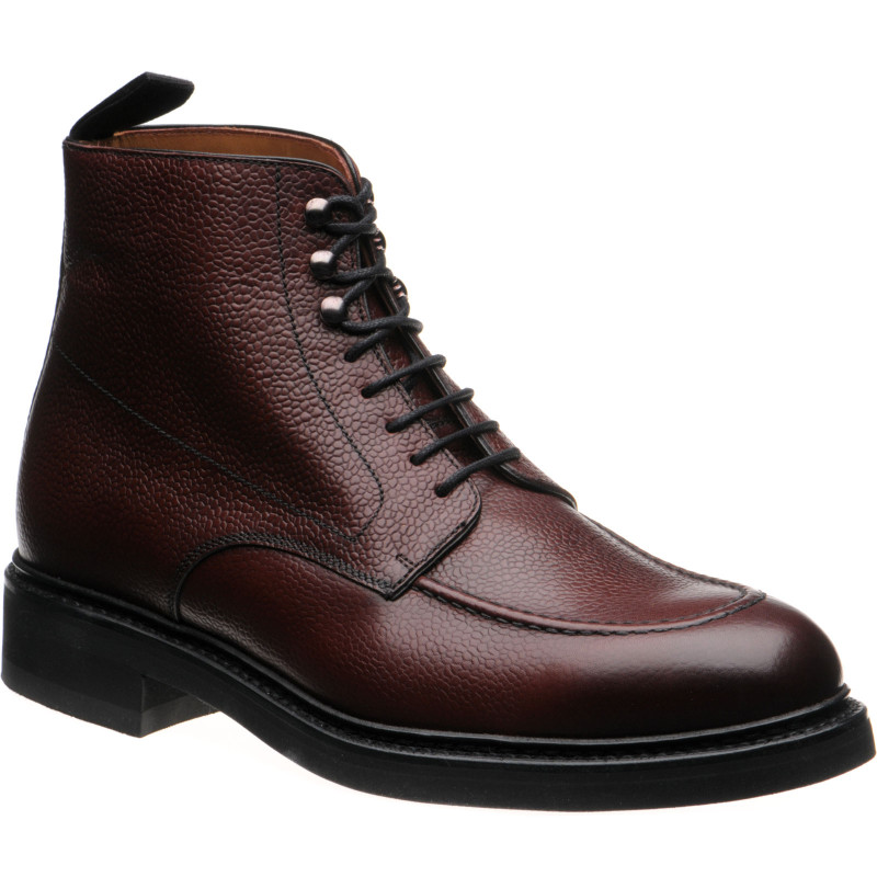 Parke rubber-soled boots