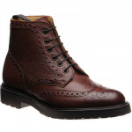 Herring Corsham rubber-soled brogue boots