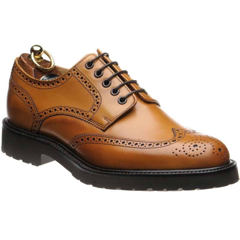 Chippenham rubber-soled brogues