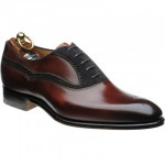 Longdon two-tone semi-brogues