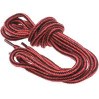herring hiking boot laces in red and black 140cm