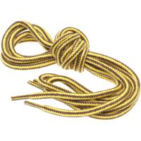 herring hiking boot laces in yellow and brown 140cm