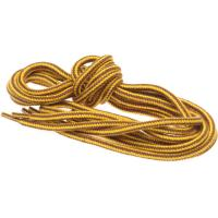 herring hiking boot laces in yellow and brown 180cm