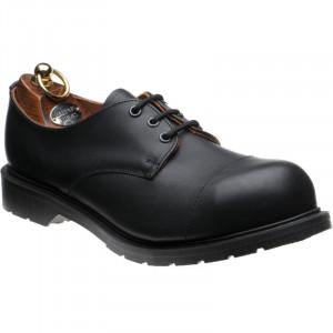 Herring Pitsford Steel Toe Cap in Black Calf
