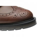 Hartwell rubber-soled brogue boots