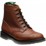 Herring Hartwell rubber-soled brogue boots