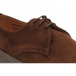 Cobra rubber-soled Derby shoes