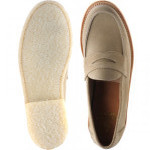Cannes rubber-soled loafers