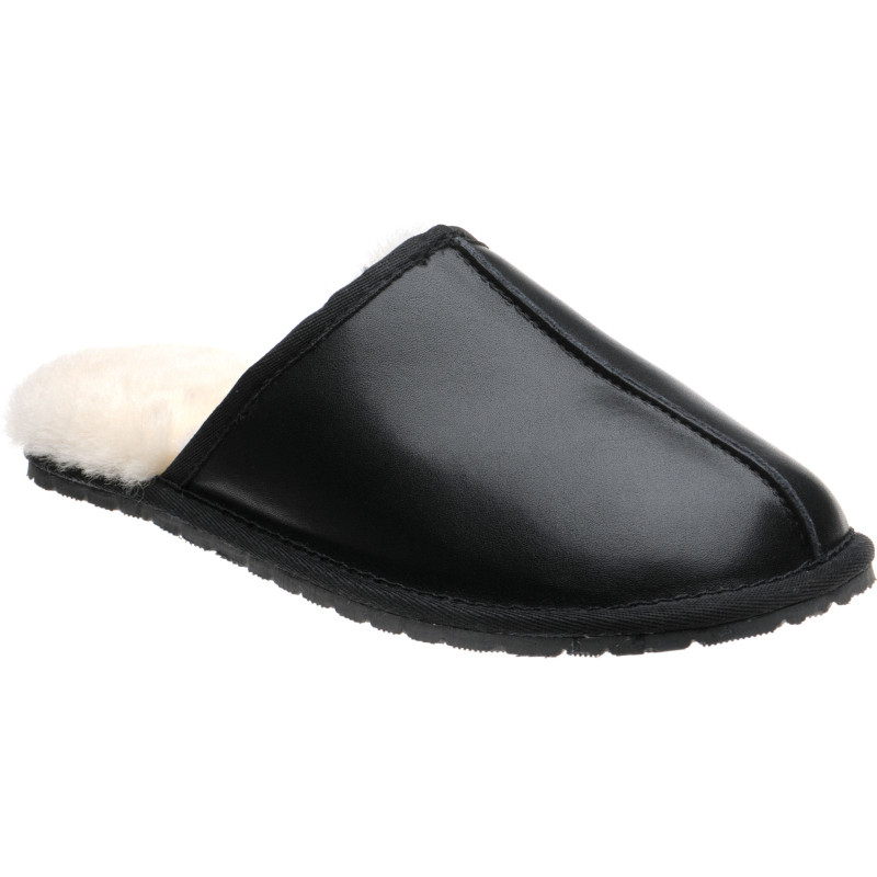 Logan rubber-soled slippers