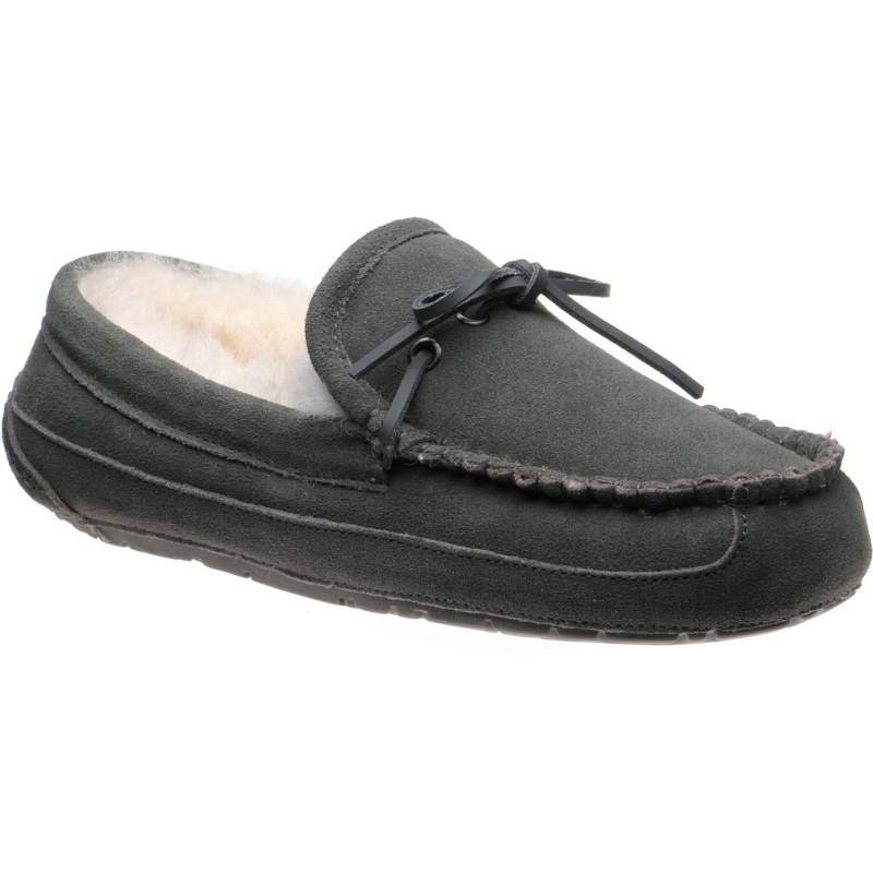 Fergus rubber-soled slippers