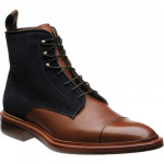 Herring Mason two-tone rubber-soled boots