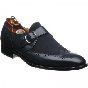 Herring Paddington in Navy Calf and Suede