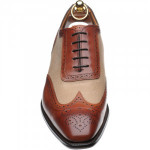 Henley two-tone brogues
