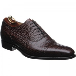 Herring Jagger in Brown Mock Croc
