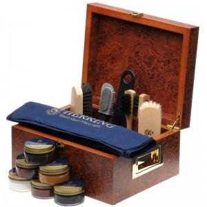Herring Large Valet Box in Walnut Veneer