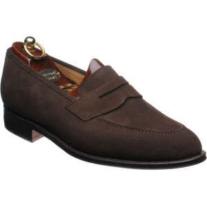 Herring heath OLD in Brown Suede
