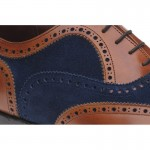 Herring Fencote two-tone brogues