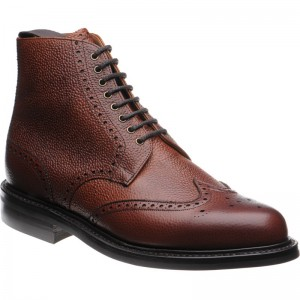 Langdale  rubber-soled brogue boots