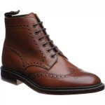 Herring Burgh brogue boots