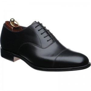 Herring Knightsbridge (oxford) in Black Calf
