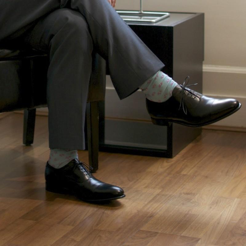 66bc940dfdcad Herring shoes | Herring Classic | Knightsbridge (Oxford) in Black Calf at  Herring Shoes