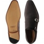 Genova double monk shoes