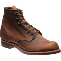 red wing blacksmith in copper rough and tough leather