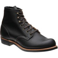 red wing blacksmith in black prairie leather