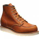Red Wing 6-Inch Classic Moc rubber-soled boots