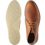 Work Chukka rubber-soled Derby shoes